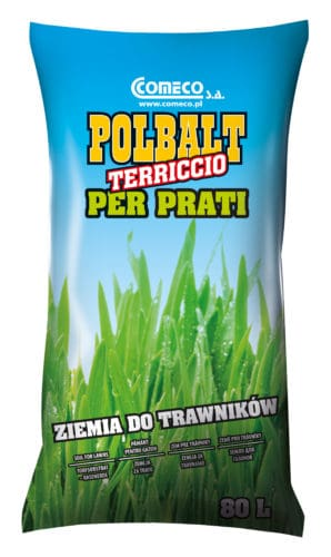 Polbalt soil for lawn