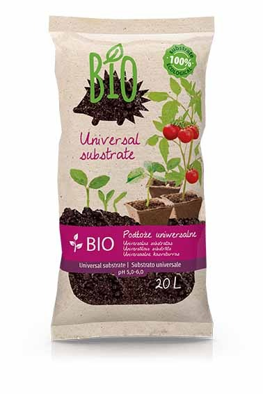 The package of Bio Jeżyk - our universal peat substrate