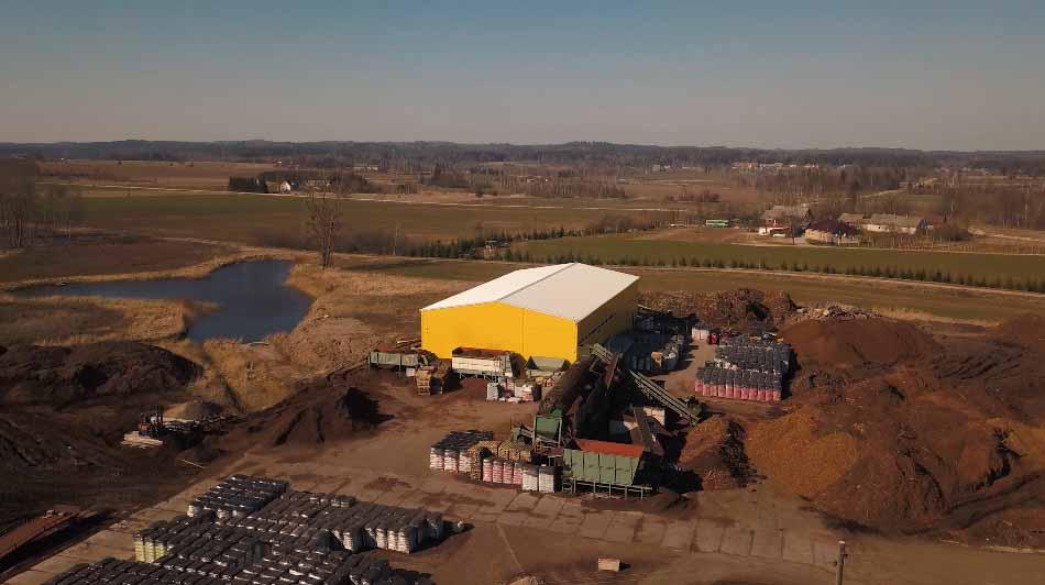 SIA Siluflora - factory in Latvia